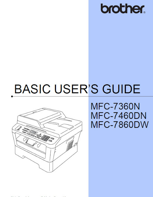 Brother MFC-7860DW Manual