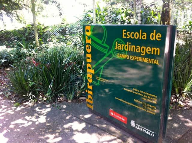 Parque Ibirapuera - Escola de Jardinagem