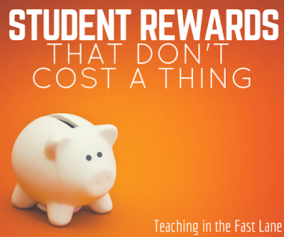 Are student rewards or your treasure box making you go broke? Not anymore! Check out this list of 50 absolutely free student rewards!