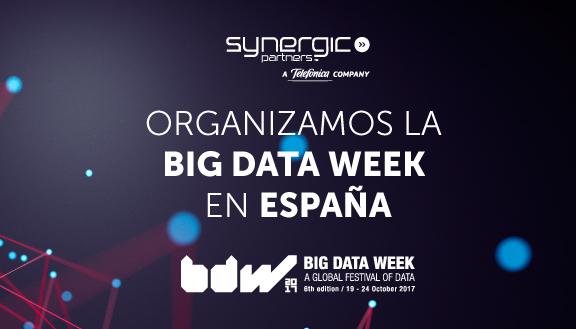6ª edición Big Data Week España 2017