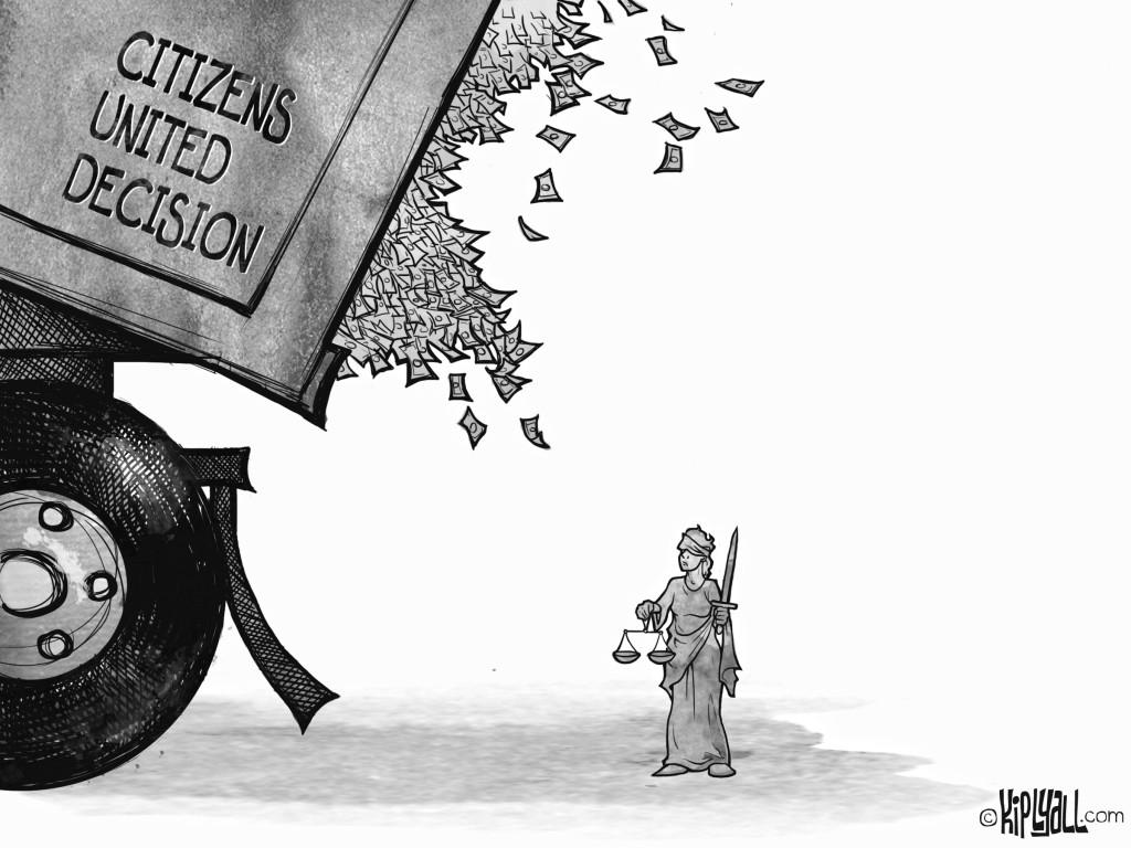 Cartoon by Kip Lyall at http://kiplyall.blogspot.com/2011/12/cartoon-citizens-united.html