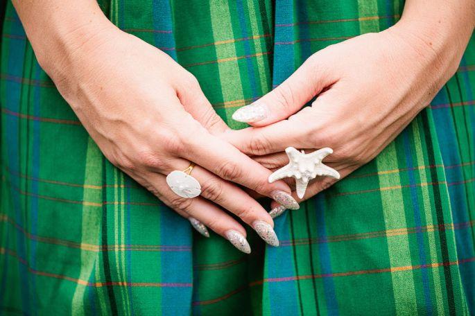 Divinas uñas de novias | Tendencias en moda | Somos Novias