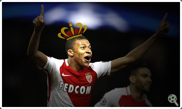 Kylian Mbappé Monaco Jewel