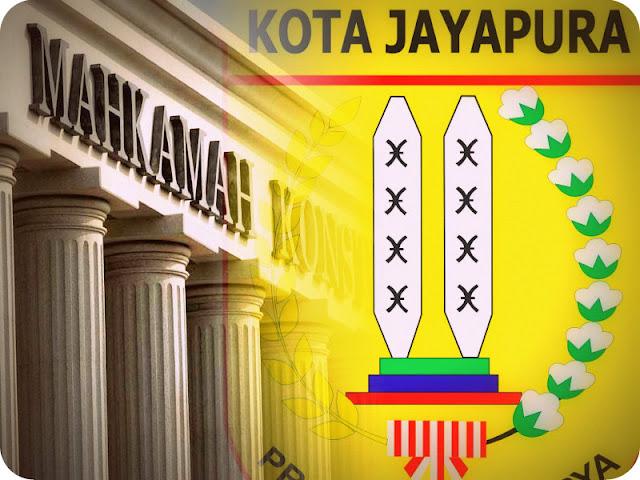 Hari Ini, Putusan MK Atas Gugatan Benhur Tomi Mano dan Rustan Saru Sebagai Pemenang Pilkada Kota Jayapura