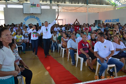 Convenção histórica reúne multidão e confirma Tinoco e Gênio candidatos a prefeito e vice-prefeito em Aldeias Altas