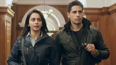 Sidharth Malhotra & Rakul Preet Singh New Jodi HD Picture 2018