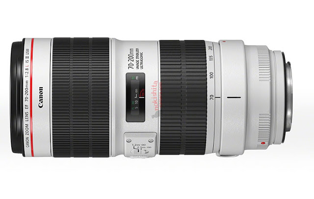 Canon EF 70-200 f/4L IS II and EF 70-200 f/2.8L IS III