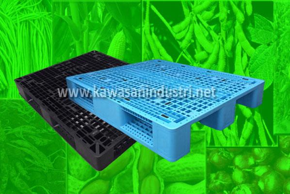 Peranan Pallet Plastik dalam Industri Pertanian Indonesia
