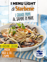 Logo Il settimanale Star Bene in edicola ti regala il ricettario menù al sapore di mare