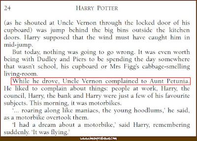 Harry Potter Salah Grammar