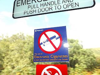 Itt még e-cigit sem lehet használni :D
