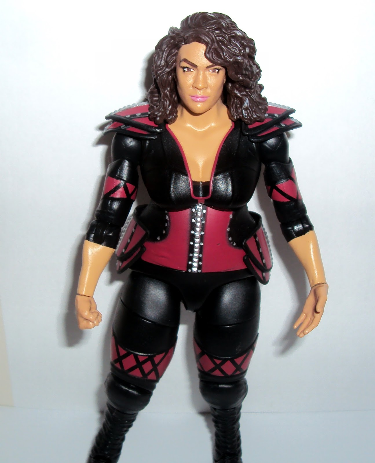 Wwe Girl Toys : Action figure imagery toy reviews wwe mattel nia jax