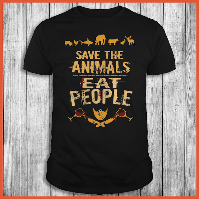 Save The Animals Eat People Shirt