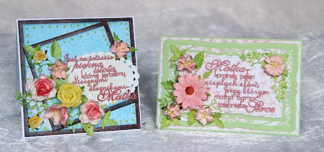 dzien mamy, dla niej, Magiczna karta, Magia Ombre, inspiracje, pomysł na prezent dla mamy, handmad, scrap, kartka dla mamy,