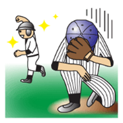 Let's play baseball-English version