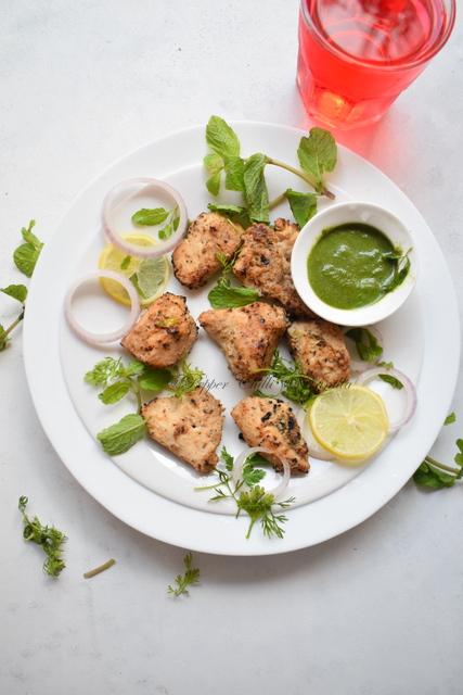 chicken kalimiri kebab/kalimrich murg kebab