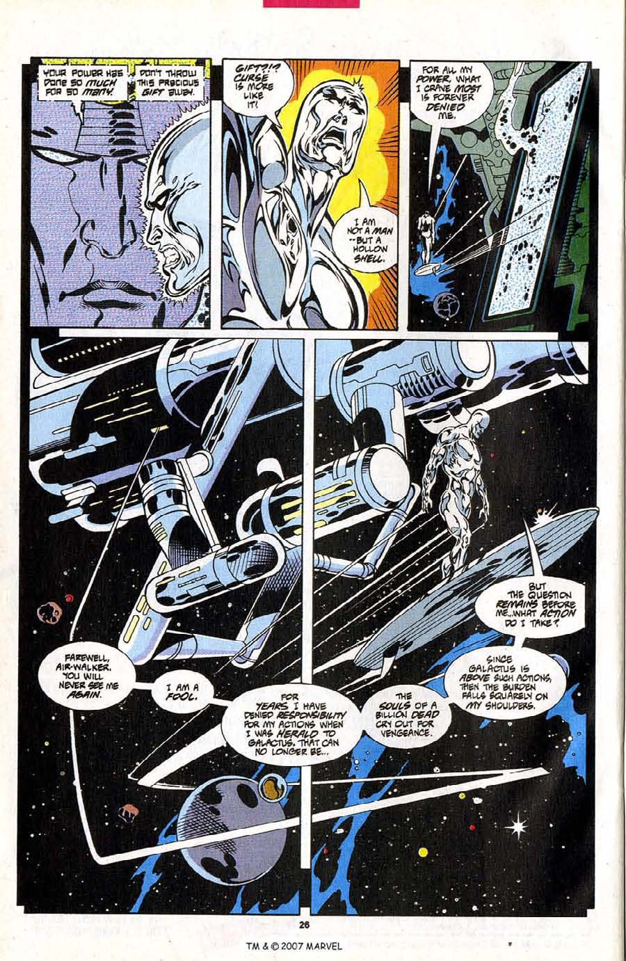 Read online Silver Surfer (1987) comic -  Issue #102 - 28