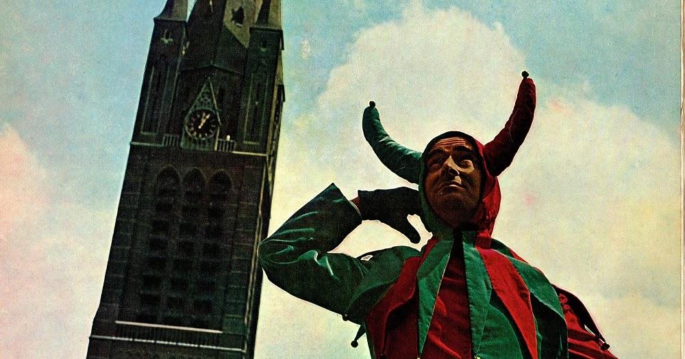 Naald Op De Groef Fons Jansen De Lachende Kerk 1964 Lp