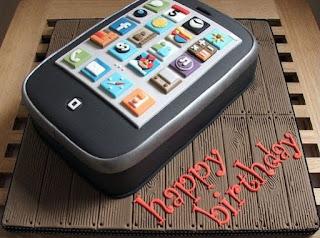 kue ulang tahun iphone