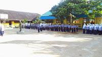 Upacara Bendera SMP Muhammadiyah Sungai Pandan