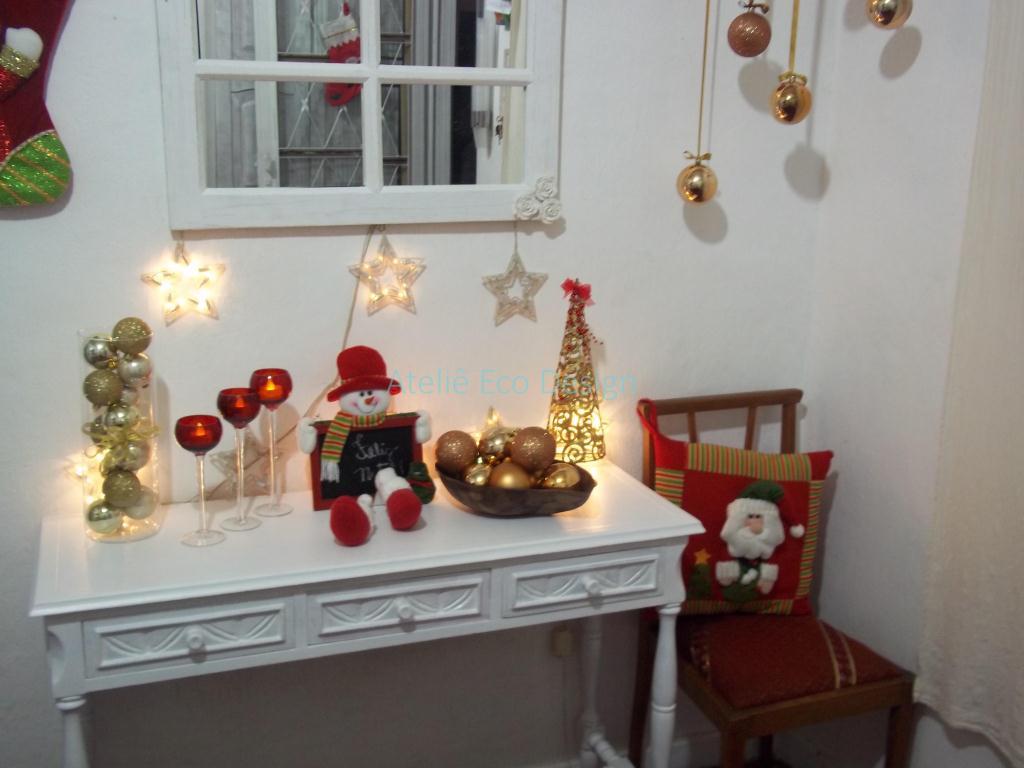 Ateli u00ea Eco Design Decoraç u00e3o de Natal Simples e Super Barata -> Como Decorar Uma Arvore De Natal Simples E Bonita