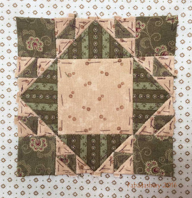 Dear Jane Quilt - Block I12 Fred's Fair Square