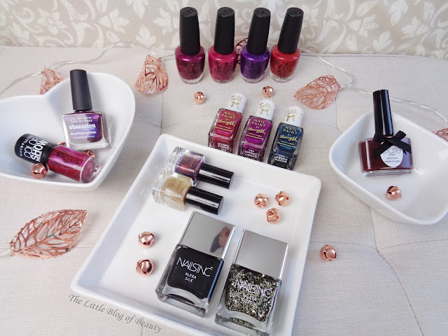 Autumn/winter nail shades