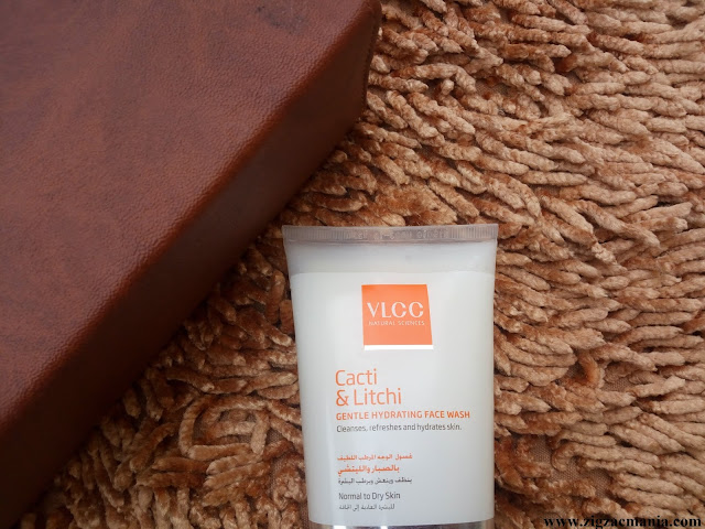 VLCC Cacti & Litchi Gentle Hydrating Face Wash Packaging, online availability, Price