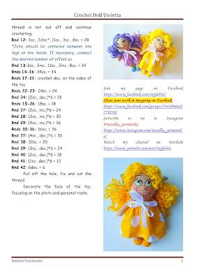 crochet doll free pattern
