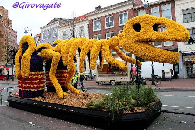 haarlem bloemencorso flower parade