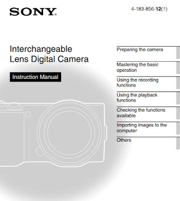 Sony Alpha NEX-5 User Manual