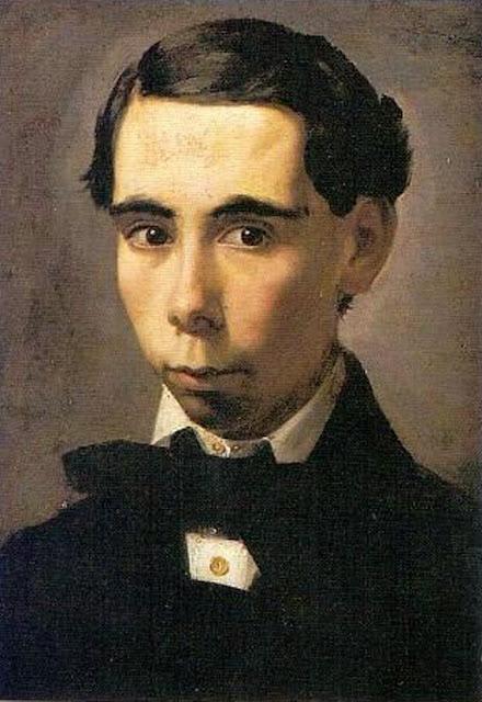 Bernardo Ferrándis y Badenes, Self Portrait, Portraits of Painters, Bernardo Ferrándis,  Fine arts, Bernardo Ferrándis Badenes
