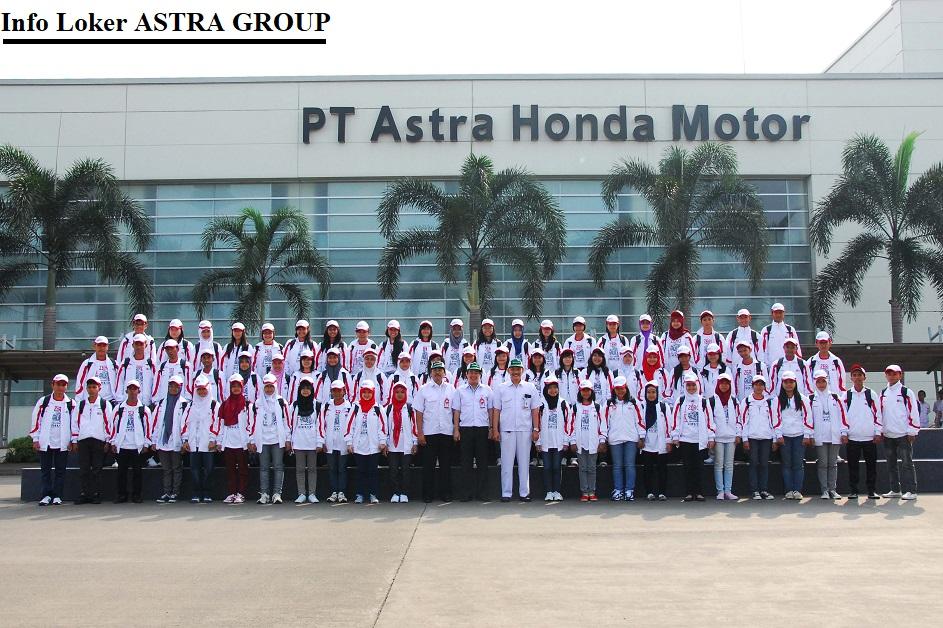 Info Loker ASTRA GROUP PT.AHM Astra Honda Motor Bekasi Mm2100 2018