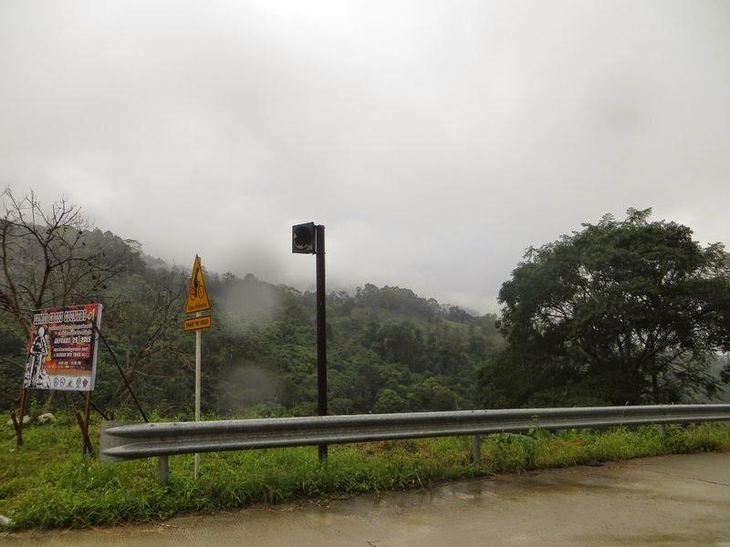 Дождь в горах на Самуи
