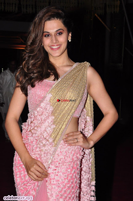 Taapsee Pannu in Pink saree ~  Exclusive Galleries 002.jpg