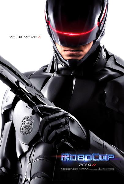 Primul Poster Pentru Filmul Robocop 2014