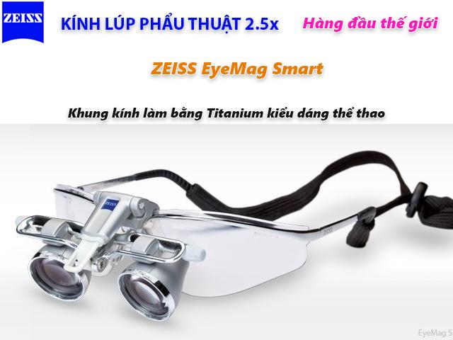 Kính lúp phẩu thuật 2.5x Zeiss EgeMag Smart
