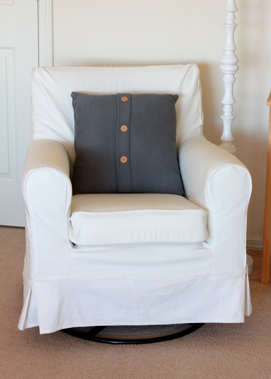 slipcover for rocking chair glider scoliosis traction the speechaholic