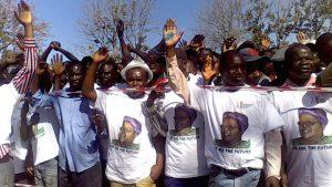 Mujuru supporters besiege Chinhoyi