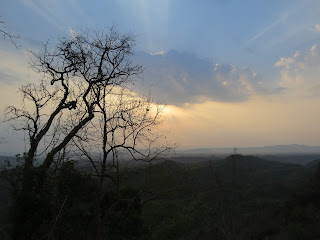 Sunset from Kanglak Hill