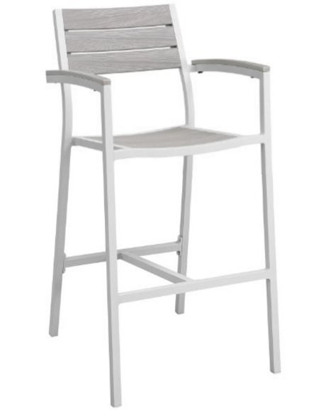 Modern Urban Contemporary Outdoor Patio Bar Stool