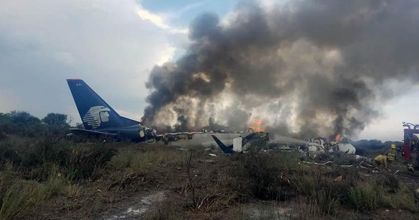 Video: PGR investigará caso del avión que se desplomó en Durango