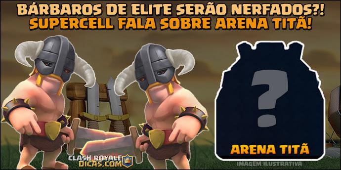 Arena Titan Clash Royale