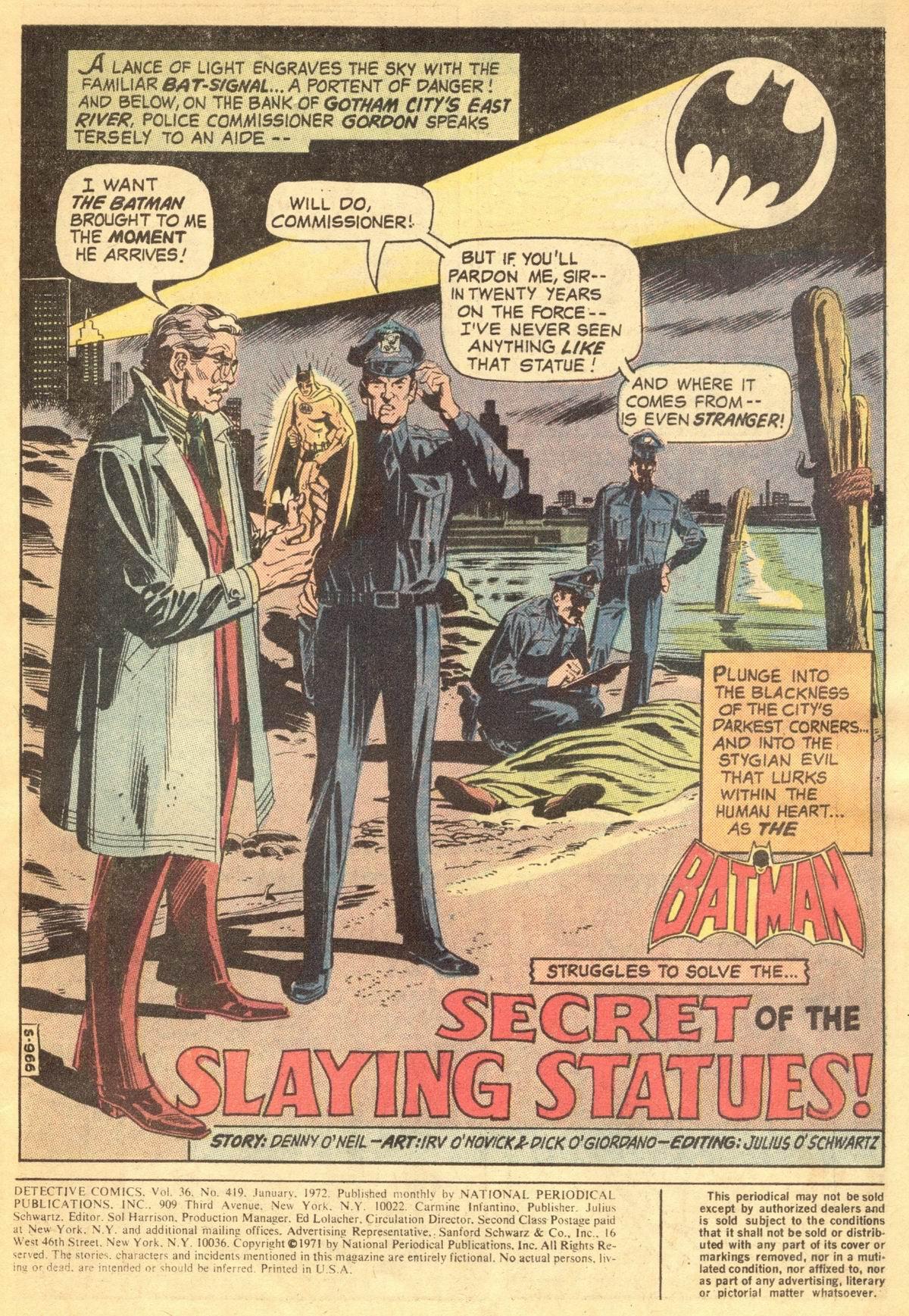Detective Comics (1937) 419 Page 2