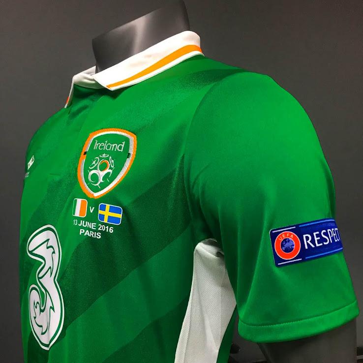 b577b8e7be1 Ireland Euro 2016 Kits Revealed - Footy Headlines