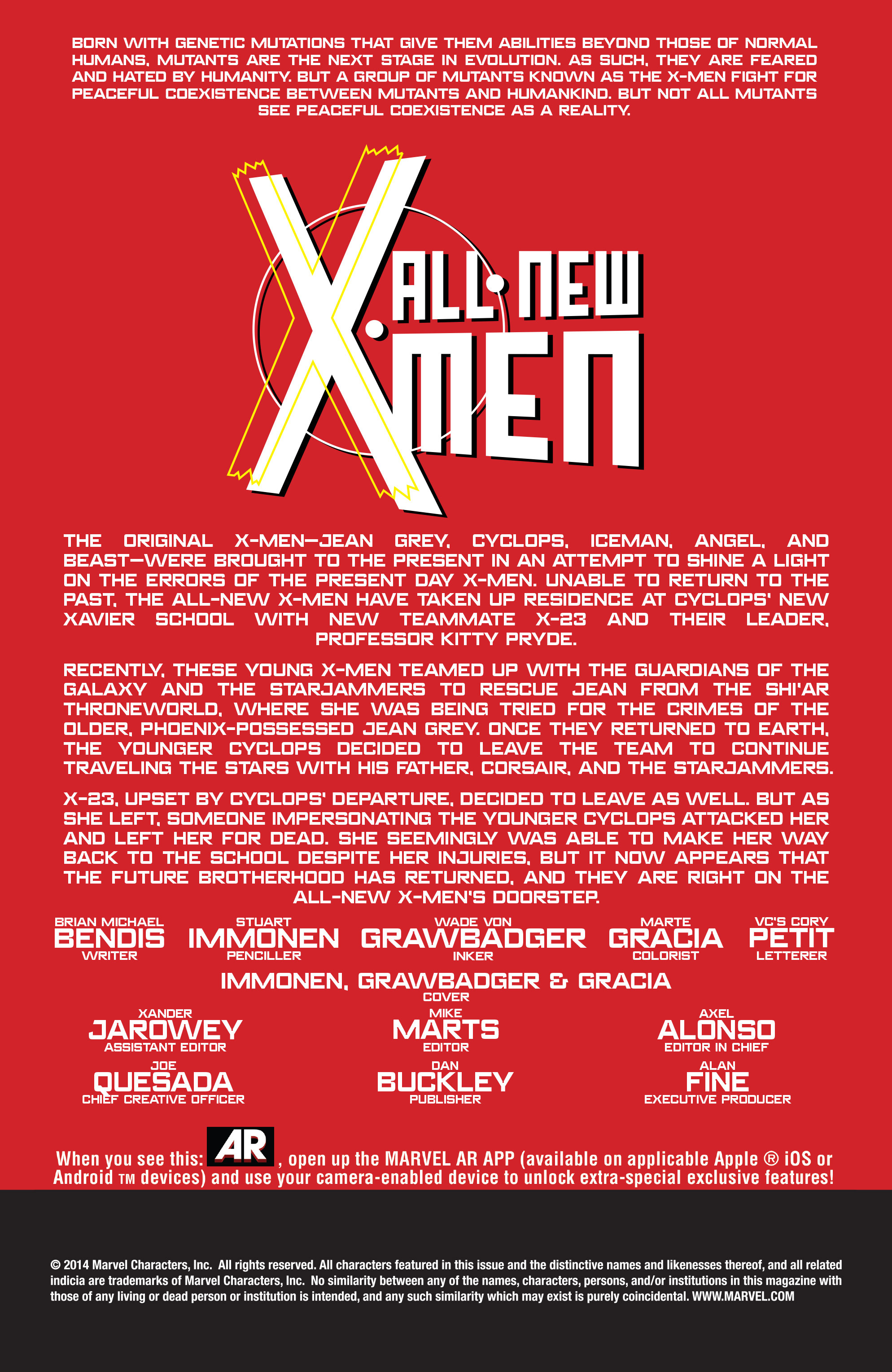 Read online All-New X-Men (2013) comic -  Issue #27 - 2