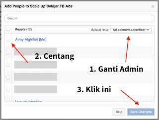 Create Ad Account. Setelah itu, jika approved