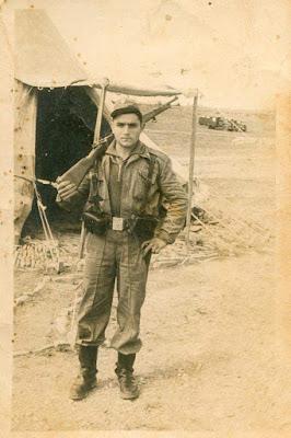 Ramón Guimerá Caballé, mili, servicio militar, Sabiñánigo, Huesca, Aragón