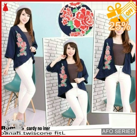 AFO537 Model Fashion Cardy Rombu Modis Murah BMGShop