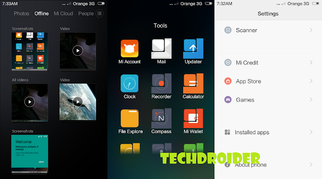 MIUI 6 for Samsung Galaxy S advance